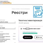 регистрация техпаспорта в реестре